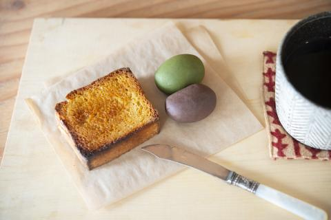 Wanokashi MEGURI-Bean butter toast set
